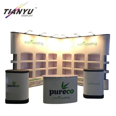 Pop Up Display magnética de aluminio Banner stand stand de exposición